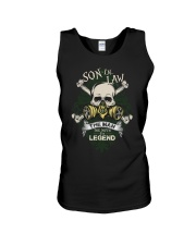SON-IN-LAW - SKULL - THE MAN THE MYTH THE LEGEND Unisex Tank thumbnail
