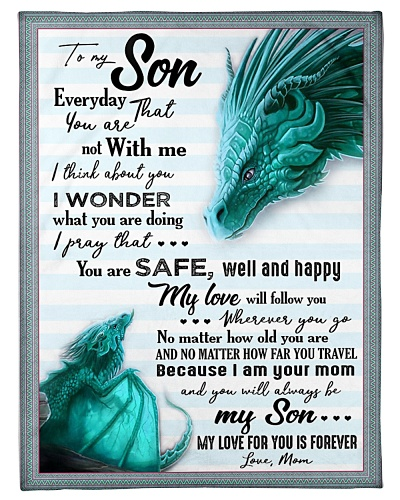 BLANKET - TO MY SON - BLUE DRAGON - EVERYDAY