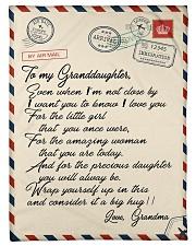 """Gift For Granddaughter - Fleece Blanket Small Fleece Blanket - 30"""" x 40"""" front"""