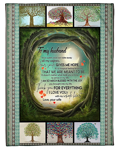 TO MY HUSBAND - LOVE TREE - I LOVE YOU