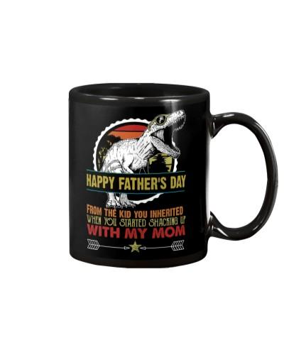 MUG - T REX - HAPPY FATHER'S DAY