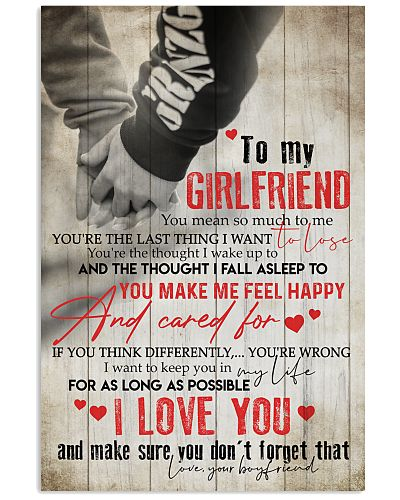 TO MY GIRLFRIEND