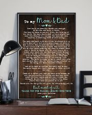 CHILDREN TO MOM AND DAD 16x24 Poster lifestyle-poster-2