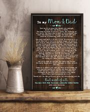 CHILDREN TO MOM AND DAD 16x24 Poster lifestyle-poster-3