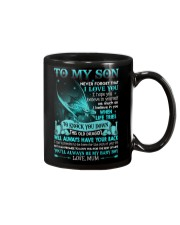 MUM TO SON Mug front