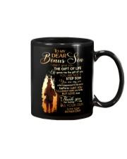 BONUS DAD TO BONUS SON Mug front