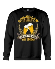 SON-IN-LAW - BEER DAY - THE MAN THE MYTH Crewneck Sweatshirt thumbnail