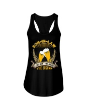 SON-IN-LAW - BEER DAY - THE MAN THE MYTH Ladies Flowy Tank thumbnail