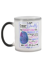 Father's Day - Kids To Dad - Dear Daddy - Mug Color Changing Mug color-changing-left