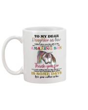 MUG - TO MY DAUGHTER-IN-LAW - UNICORN - CIRCUS Mug back