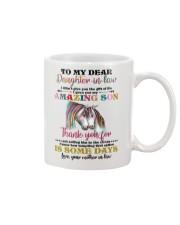 MUG - TO MY DAUGHTER-IN-LAW - UNICORN - CIRCUS Mug front