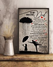 POSTER - TO MY DAD - WHEN I LOOK AT YOU 16x24 Poster lifestyle-poster-3
