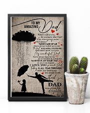 POSTER - TO MY DAD - WHEN I LOOK AT YOU 16x24 Poster lifestyle-poster-8