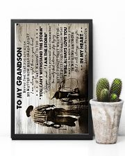 Grandpa to Grandson - I Will Always Carry You 16x24 Poster lifestyle-poster-8