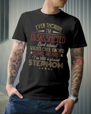 Even though I'm disrespected lied about walked  Classic T-Shirt lifestyle-mens-crewneck-front-6
