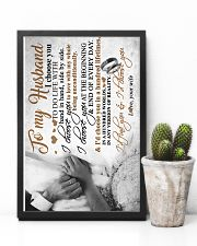 TO MY HUSBAND - HAND IN HAND - I CHOOSE YOU 16x24 Poster lifestyle-poster-8