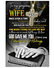 To Wife - Cross - Once Upon A Time - Poster 16x24 Poster front