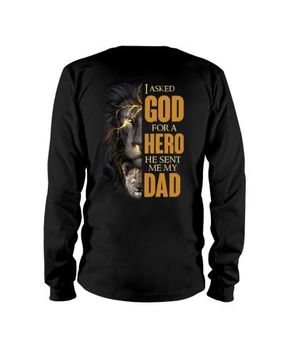 I asked God for a hero