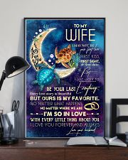 WIFE - TURTLE - I LOVE YOU TO THE MOON AND BACK 16x24 Poster lifestyle-poster-2