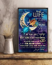 WIFE - TURTLE - I LOVE YOU TO THE MOON AND BACK 16x24 Poster lifestyle-poster-3