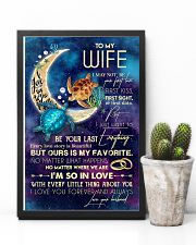 WIFE - TURTLE - I LOVE YOU TO THE MOON AND BACK 16x24 Poster lifestyle-poster-8