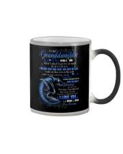 Grandma to Granddaughter - I Love You To The Moon Color Changing Mug thumbnail