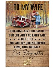 Wife - Firefighter - You Are My Queen Forever 16x24 Poster front