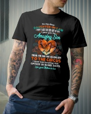 T-SHIRT - TO MY DAUGHTER-IN-LAW - FOX - CIRCUS Classic T-Shirt lifestyle-mens-crewneck-front-6