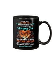T-SHIRT - TO MY DAUGHTER-IN-LAW - FOX - CIRCUS Mug tile