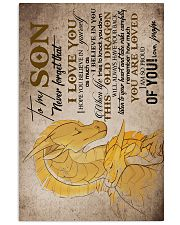 MOM TO SON - DRAGON - TAKE RISKS 16x24 Poster front