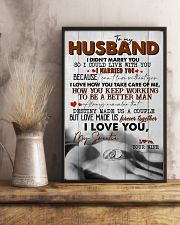 TO MY HUSBAND - RING - I LOVE YOU 16x24 Poster lifestyle-poster-3
