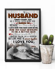 TO MY HUSBAND - RING - I LOVE YOU 16x24 Poster lifestyle-poster-8