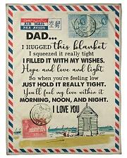 """To My Dad - Love Letter - Fleece Blanket Small Fleece Blanket - 30"""" x 40"""" front"""