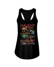 T-SHIRT - TO FATHER - DINO - YOU ARE MY FAVORITE Ladies Flowy Tank thumbnail