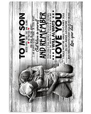 To My Son - Never Feel that You Are Alone  11x17 Poster thumbnail
