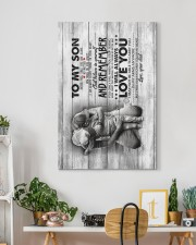 To My Son - Never Feel that You Are Alone  20x30 Gallery Wrapped Canvas Prints aos-canvas-pgw-20x30-lifestyle-front-03