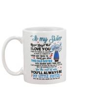 TO MY SISTER - PROTEAFLOWER - THANK YOU Mug back