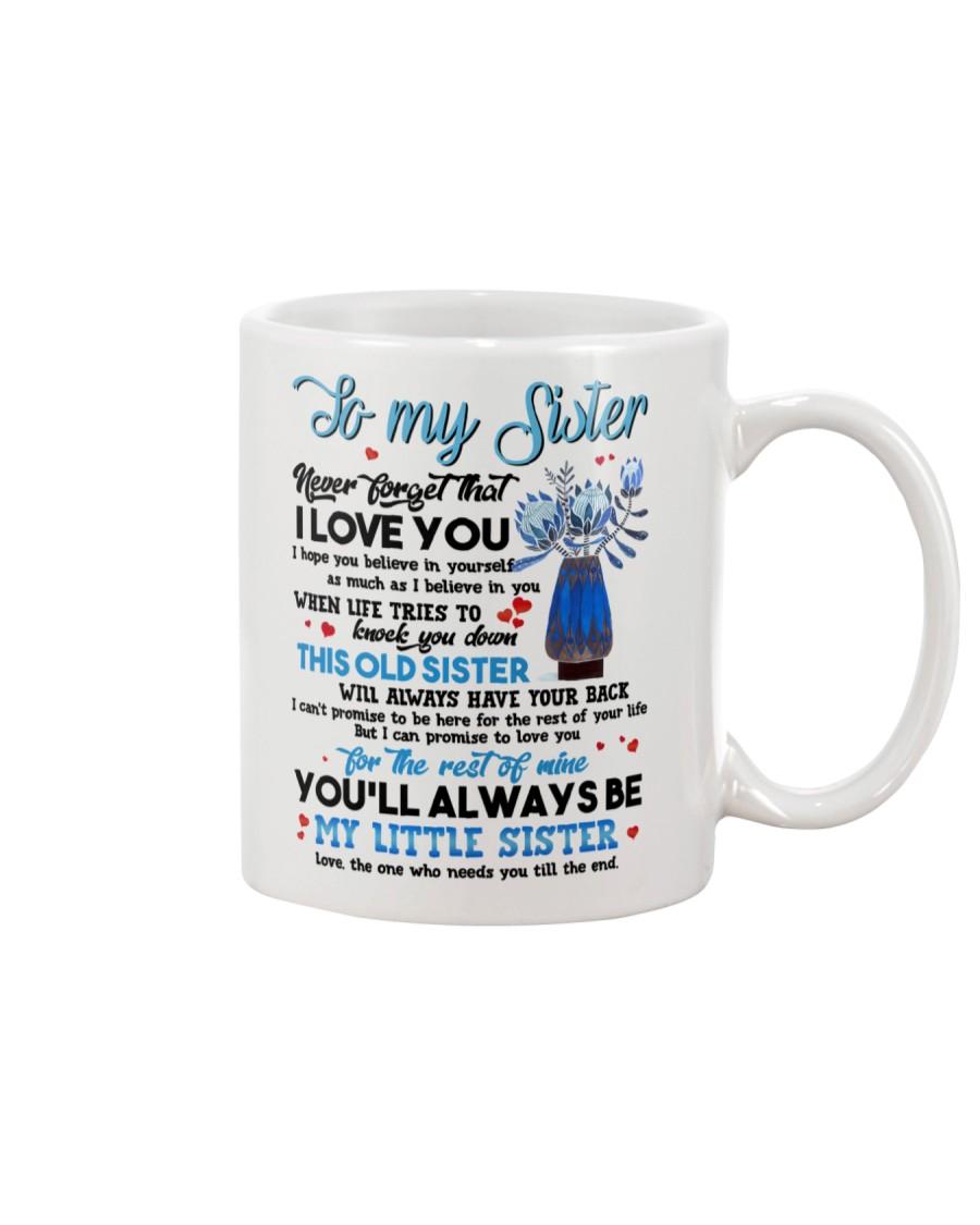 TO MY SISTER - PROTEAFLOWER - THANK YOU Mug