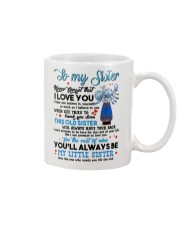 TO MY SISTER - PROTEAFLOWER - THANK YOU Mug front