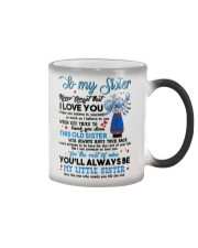 TO MY SISTER - PROTEAFLOWER - THANK YOU Color Changing Mug thumbnail
