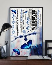 God -To My Angel Dad - Poster 16x24 Poster lifestyle-poster-2