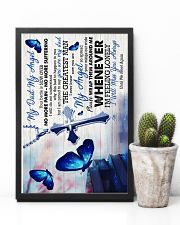 God -To My Angel Dad - Poster 16x24 Poster lifestyle-poster-8
