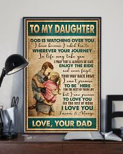 Daughter - God Is Watching Over You - Poster 16x24 Poster lifestyle-poster-2