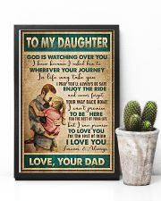 Daughter - God Is Watching Over You - Poster 16x24 Poster lifestyle-poster-8