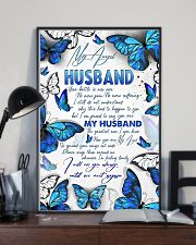 MY ANGEL HUSBAND - BUTTERFLY - I MISS YOU 16x24 Poster lifestyle-poster-2