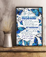 MY ANGEL HUSBAND - BUTTERFLY - I MISS YOU 16x24 Poster lifestyle-poster-3