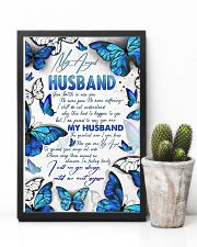 MY ANGEL HUSBAND - BUTTERFLY - I MISS YOU 16x24 Poster lifestyle-poster-8