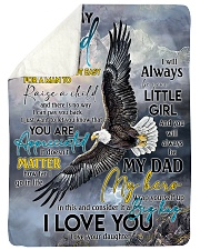 To My Dad - You Are Appreciated - Fleece Blanket Sherpa Fleece Blanket tile