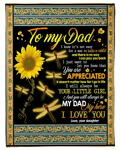 TO MY DAD - SUNFLOWER - YOU ARE APPRECIATED