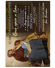 To Granddaughter - Whose Granddaughter You Are 16x24 Poster front